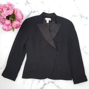 Christian Dior, Tuxedo Blazer, Black, 10